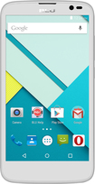 Blu - Studio G 4G with 4GB Memory Cell Phone (Unlocked) - White