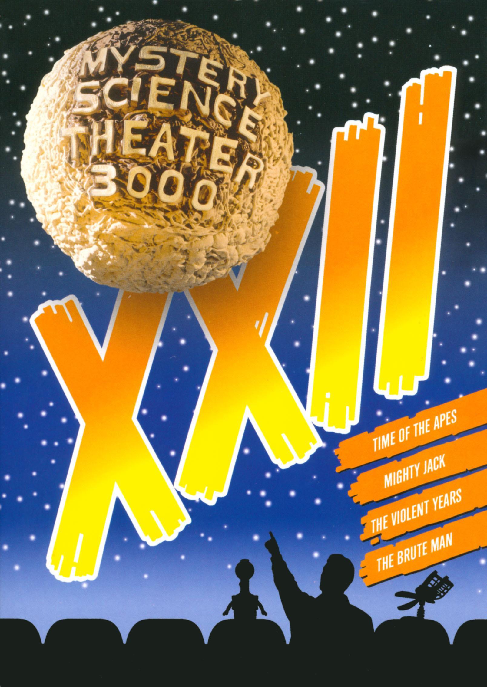 Mystery Science Theater 3000: Xxii [4 Discs] (dvd) 3979101