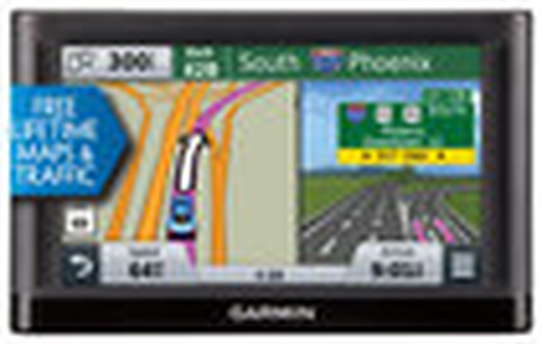 "Garmin - nüvi 56LMT 5"" GPS with Lifetime Map Updates and Lifetime Traffic Updates"