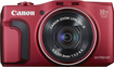 Canon - PowerShot SX-700 HS 16.1-Megapixel Digital Camera - Red