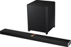 "Samsung - 4.1-Channel Soundbar with 8"" Wireless Active Subwoofer - Black"