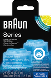 Braun - Clean & Charge Refills - Black