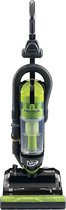 Panasonic - HEPA Bagless Upright Vacuum - Black/Green