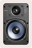 "Polk Audio - RC55i 5-1/4"" In-Wall Speakers (Pair) - White"