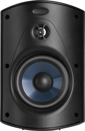 Polk Audio - Atrium5 5 Outdoor Speakers (Pair) - Black