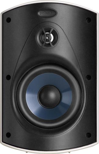 Polk Audio - Atrium5 5 Outdoor Speakers (Pair) - White