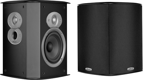 Polk Audio - FXi A4 Surround Speakers (Pair) - Black