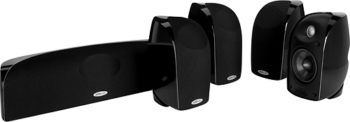 Polk Audio - Blackstone 5.0-Channel Home Theater Speaker System - Black
