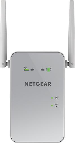 NETGEAR - AC1200 Dual-Band Gigabit Wi-Fi Range Extender - White