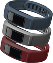 Garmin - Downtown Accessory Bands for vívofit 2 Activity Trackers (3-Pack) - Burgundy/Slate/Navy