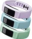 Garmin - Serenity Accessory Bands for vívofit 2 Activity Trackers (3-Pack) - Mint/Cloud/Lilac