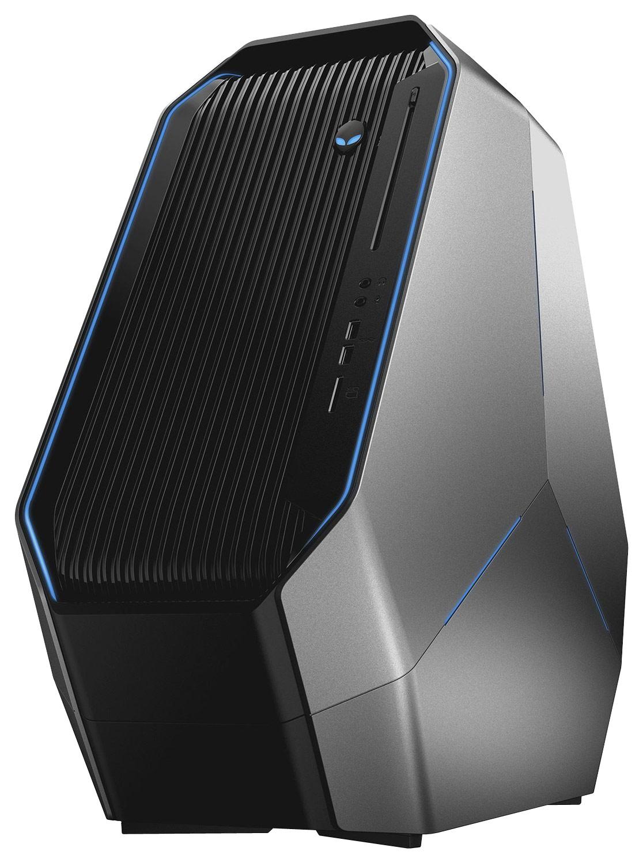 Alienware - Desktop - Intel Core i7 - 16GB Memory - 2TB Hard Drive + 128GB Solid State Drive - Epic Silver