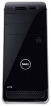 Dell - XPS Desktop - Intel Core i7 - 16GB Memory - 2TB Hard Drive + 32GB Solid State Drive - Black