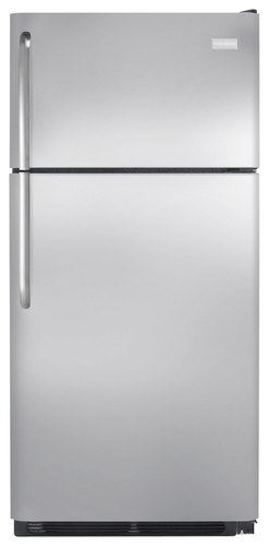 Frigidaire - 18.0 Cu. Ft. Top-Freezer Refrigerator - Stainless Steel