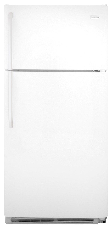Frigidaire - 18.0 Cu. Ft. Top-Freezer Refrigerator - Pearl