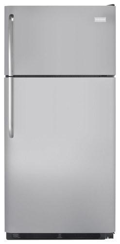 Frigidaire - 18.0 Cu. Ft. Top-Freezer Refrigerator - Silver Mist