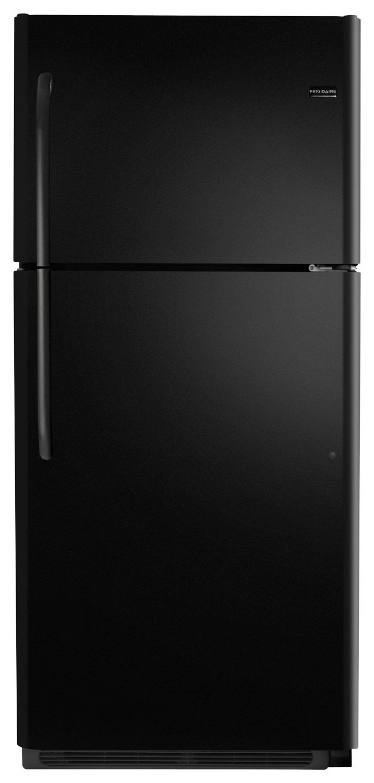 Frigidaire - 20.5 Cu. Ft. Top-Freezer Refrigerator - Ebony