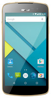 Blu - Studio X 4G with 8GB Memory Cell Phone (Unlocked) - Gold
