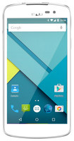 Unlocked BLU - Studio X 4G with 8GB Memory Cell Phone - White