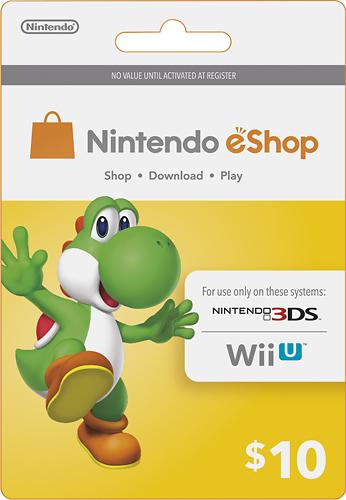 Nintendo - Nintendo eShop Prepaid Card ($10) - Multi