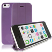 RevJams - FlipBack Smart Case/Cover with Stand for iPhone 5C - Purple