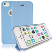 RevJams - FlipBack Smart Case/Cover with Stand for iPhone 5/5S - Blue