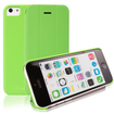 RevJams - FlipBack Smart Case/Cover with Stand for iPhone 5C - Green