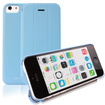 RevJams - FlipBack Smart Case/Cover with Stand for iPhone 5C - Blue
