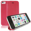 RevJams - FlipBack Smart Case/Cover with Stand for iPhone 5C - Hot Pink