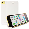 RevJams - FlipBack Smart Case/Cover with Stand for iPhone 5C - White