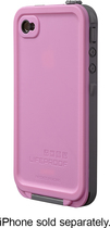 LifeProof - Case for Apple® iPhone® 4 and 4S - Pink