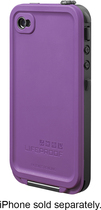 LifeProof - Case for Apple® iPhone® 4 and 4S - Purple