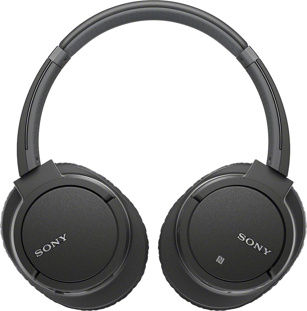 Sony - Wireless Over-the-ear Stereo Headphones - Black
