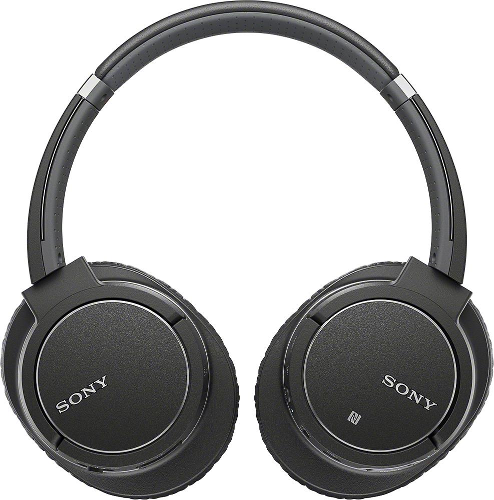 Sony - Over-the-Ear Noise Canceling Stereo Headphones - Black