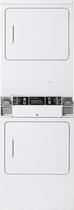 GE - 5.4 Cu. Ft. 3-Cycle Large Capacity Gas Dryer - White