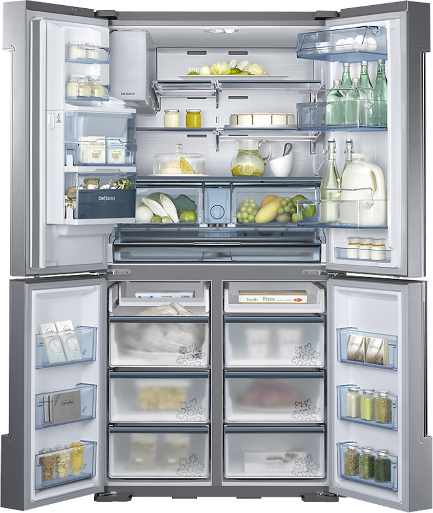 Samsung 3 door refrigerator reviews home design ideas and pictures samsung chef collection 343 cu ft 4 door flex french door refrigerator with thru rubansaba