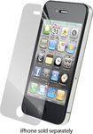 ZAGG - InvisibleShield HD for Apple® iPhone® 4 and 4S - Clear