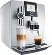 Jura - Impressa J9 Cappuccino, Latte Macchiato and Café Latte Maker - Silver