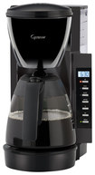 Capresso - 10-cup Coffeemaker - Black/silver 4049236