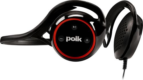 Polk Audio - UltraFit 2000 On-Ear Sports Headphones - Black