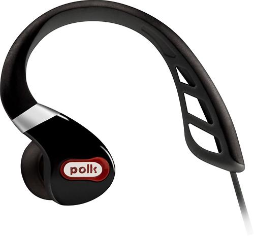 Polk Audio - UltraFit 3000 In-Ear Sports Headphones - Black