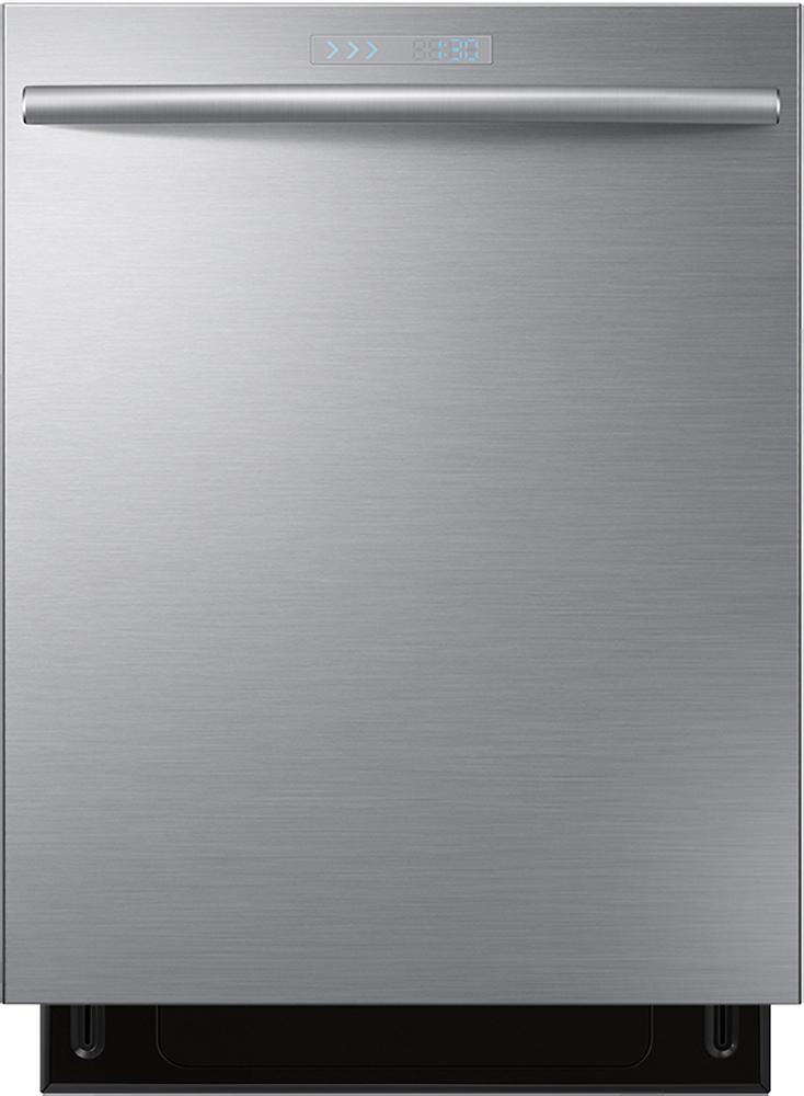 "Samsung - WaterWall 24"" Built-In Dishwasher - Stainless-Steel"