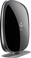 Belkin - Dual-Band Wireless-AC+ Gigabit Router - Black