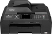 Brother - Professional Series Network-Ready Wireless All-in-One Printer - Black