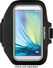 Belkin - Sportfit Armband Case for Samsung Galaxy S6 Cell Phones - Black