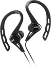 JVC - Sport Clip-On Earbud Headphones - Black