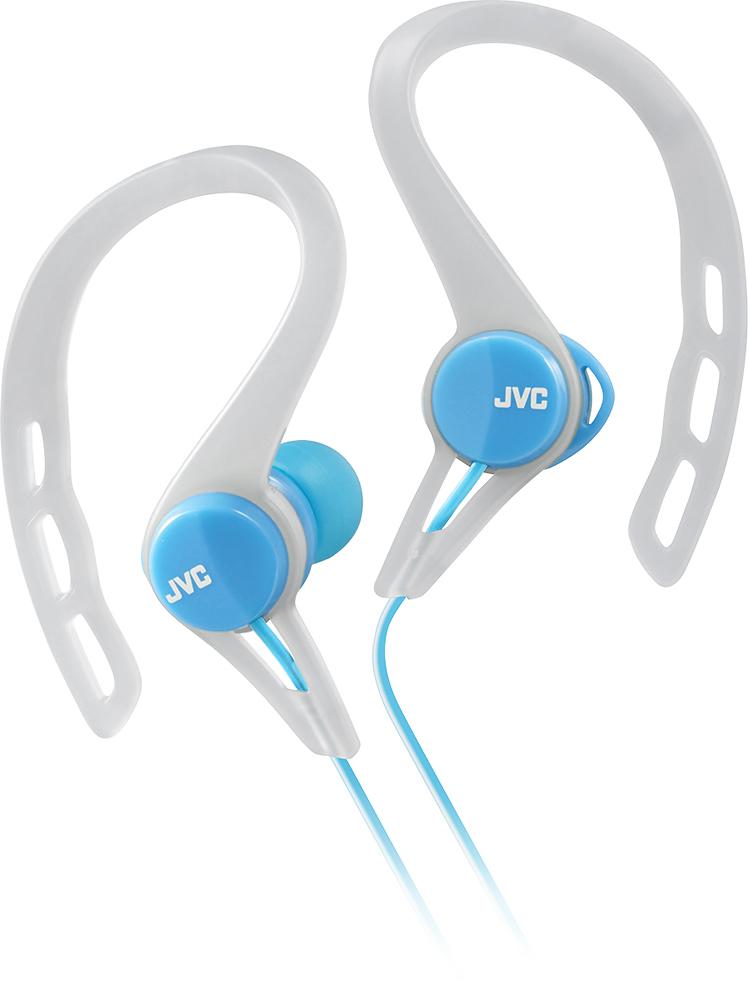 JVC - Sport Clip-On Earbud Headphones - Blue