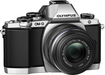 Olympus - OM-D E-M10 Mirrorless Camera with 14-42mm Lens - Silver