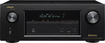 Denon - 1295W 7.2-Ch. 4K Ultra HD and 3D Pass-Through A/V Home Theater Receiver - Black