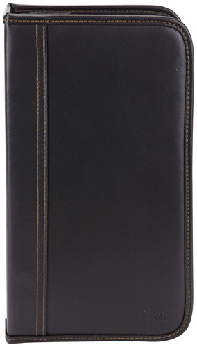 Case Logic - 72-Disc CD Wallet - Black